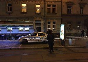V pražské ulici Na Žertvách se střílelo.