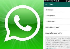 WhatsApp sdílí vaše telefonní číslo s Facebookem, takto tomu můžete zabránit