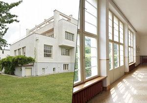Funkcionalistická vila z roku 1932, dílo proslulého architekta Adolfa Loose, je k pronájmu. Kdo by nechtěl žít v architektonickém skvostu, který má 7 pokojů, 3 koupelny a dokonalý výhled?