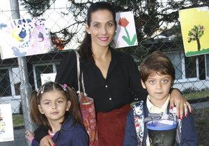 Eva Decastelo vychovává své děti k soutěživosti.