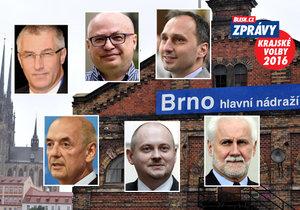 Živě vysílaná debata Blesku z Jihomoravského kraje: Michal Hašek proti pětici mužů, kteří chtějí jeho post.