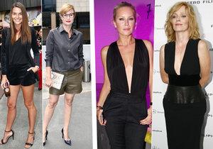 Některé dámy vsází na nohy, jiné na dekolt.