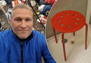 Muž si v IKEA pořídil židličku do sprchy, jenže v jednom z otvorů se mu zaseklo varle. Během koupele se mu totiž v jedné z dírek zaseklo varle. Jelikož se s bizarním příběhem pochlubil i na sociálních sítích, stala se z něj rázem hvězda.