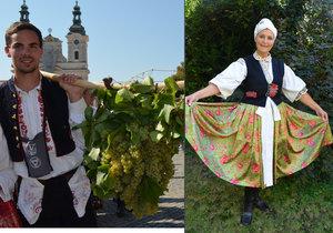 Slovácké slavnosti vína v Uherském Hradišti.