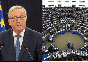 Předseda Evropské komise Jean-Claude Juncker přednesl před europoslanci každoroční projev o stavu Evropské unie.