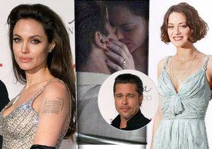 Proč Jolie odkopla Pitta? Slavný herec prý čeká dítě s Marion Cotillard!