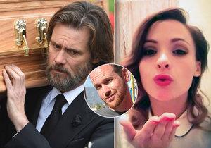 Carrey prý nakazil expřítelkyni třemi pohlavními chorobami, ona se pak zabila