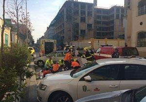 Nehoda u ulice Svornosti