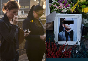 Vrah Zdeňka (†31) byl obviněn. Přátelé uctili památku Čecha a neubránili se pláči