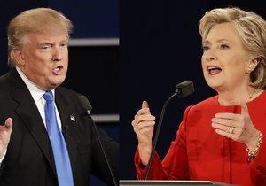 Donald Trump a Hillary Clintonová se utkali v první televizní debatě.