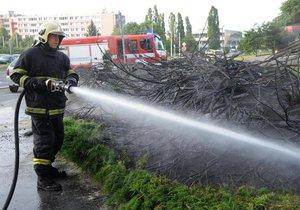 Český hydrometeorologický ústav varuje před vznikem požáru.
