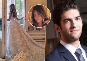 Milionářská svatba v Monaku: Dcera čečenského oligarchy si brala bohatého podnikatele, jen šaty stály přes sedm milionů korun.