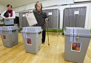 Volební místnosti