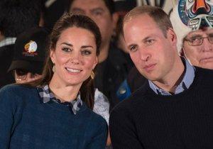 Princ William promluvil o stavu svojí ženy Kate.