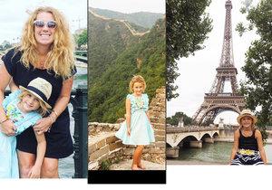 Maminka dala výpověď a s dcerkou cestuje po světě: Je to levnější, než kdyby byly doma!