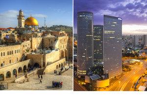 Izrael je ideálním místem na dovolenou.
