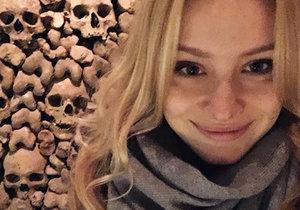 Anna Kadeřávková přiznala, že je strašpytel.