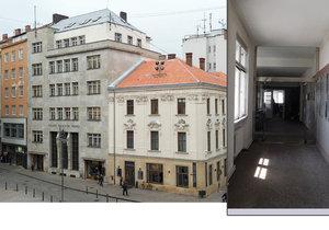 Osmdesát let starý bankovní palác v brněnské Běhounské ulici, kde v posledních 55 letech sídlila Česká televize, prodali licitátoři za 81 milionů korun.