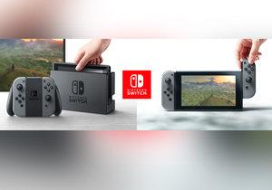 Nintendo odhalilo nové zařízení Switch, které v sobě kombinuje handheld i stolní konzoli.