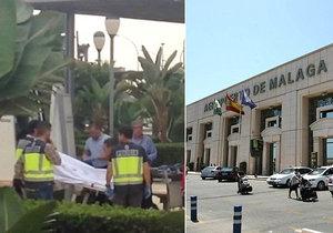 S kalhotami u kotníků a přivázaný k lavičce! Španělští policisté vyšetřují záhadnou smrt 51letého muže.