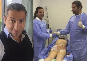 Falešný plastický chirurg Yassine Ghazi, který se fotil s pacientkami v narkóze, se poprvé vyjádřil k případu.