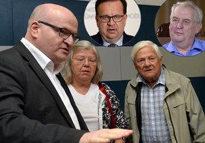 Svědek Hermanovy debaty se Zemanem odhalen: Ministr Jan Mládek však prý o Jiřím Bradym nic neslyšel.
