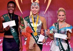 Kristýna Kubíčková se umístila na druhém místě v talentové soutěži Miss Earth.