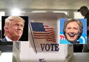 Donald Trump zpochybňuje průzkum CNN favorizující Clintonovou.