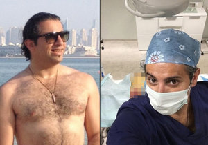 Zvrhlý chirurg Yassine Ghazi má zaděláno na pořádné problémy. Hrozí mu pokuta 900 tisíc korun.