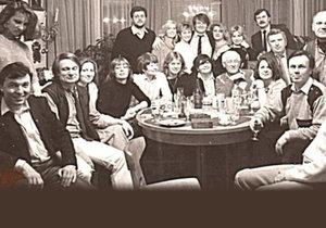 Dosud nezveřejněné foto z archivu Ladislava Štaidla: Pařba s Gottem a Štrougalovou dcerou!