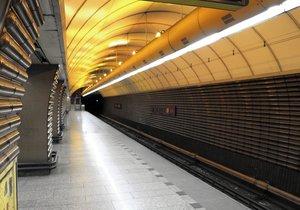 Stanici metra Jinonice od 7. ledna do 7. srpna uzavřou. Vlaky budou jen projíždět.