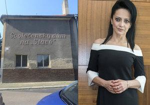 Lucie Bílá kupuje kulturní dům v Otvovicích.
