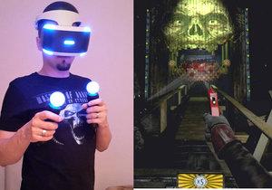 PlayStation VR je velká zábava a virtuální realita je dobře zpracovaná.