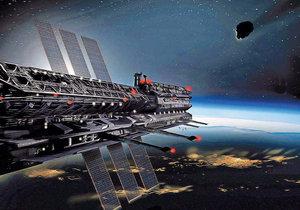 Vesmírný národ Asgardia by chtěl žít na stanici umístěné na oběžné dráze Země.