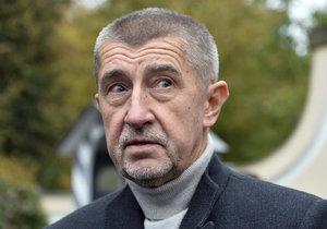Šéf hnutí ANO Andrej Babiš