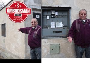 Pan Václav: CEZ mi ničí garáž! ...a nechce platit za opravy