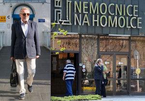 Karel Gott v naprostém utajení podstoupil v minulých dnech operaci v pražské Nemocnici Na Homolce!