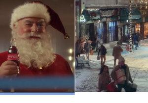 Loket rájem filmařů: Natáčela se tu další vánoční reklama! Zahrály si i Nebušice a Louny