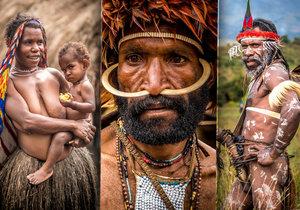 Kmen Dani žijící v Západní Nové Guineji