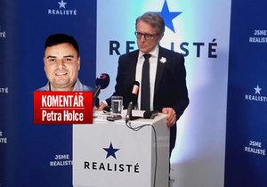 Petr Robejšek zakládá novou politickou stranu.