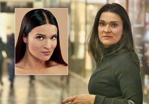 Mahulena Bočanová se na veřejnosti ukázala bez make-upu.