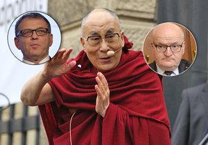 Kolem dalajlamy se v Senátu opět strhla ostrá diskuse. Účastnili se jí i ministři Zaorálek a Herman.