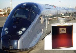 Výrobu světoznámého parfému ohrožuje stavba trasy pro rychlovlak TGV.