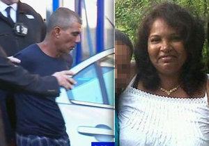 Svojí manželku ubodal přímo na ulici, pak se jí pokoušel odříznout hlavu!