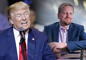 """Další """"český prezident"""" velebí Trumpa. Do USA na inauguraci míří šéf Liberlandu"""
