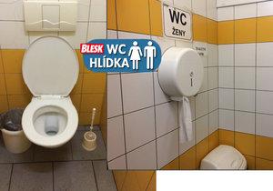 WC hlídka řádila na záchodech ve vestibulu metra I. P. Pavlova. Jaké dostaly ohodnocení?