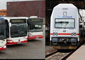 Podle informací Ropidu budou příměstské spoje, vlaky a autobusy, jezdit častěji.