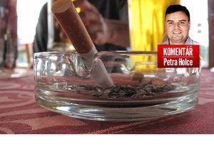 Petr Holec o zákazu kouření v restauracích