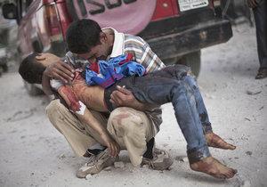 Smrt v Sýrii je všudypřítomná.