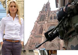 Dita Charanzová o směrnici EU o zbraních, ale i předvánoční atmosféře ve Štrasburku